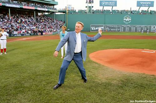 vinfirstpitch at Fenway.jpg