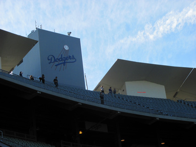 Pictures Taken From Dodger Stadium January 28, 2010 (3/6)