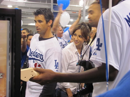 Dodgers Caravan Brad Ausmus 020310.jpg