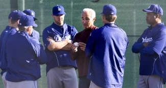Sandy Koufax at Camelback Ranch