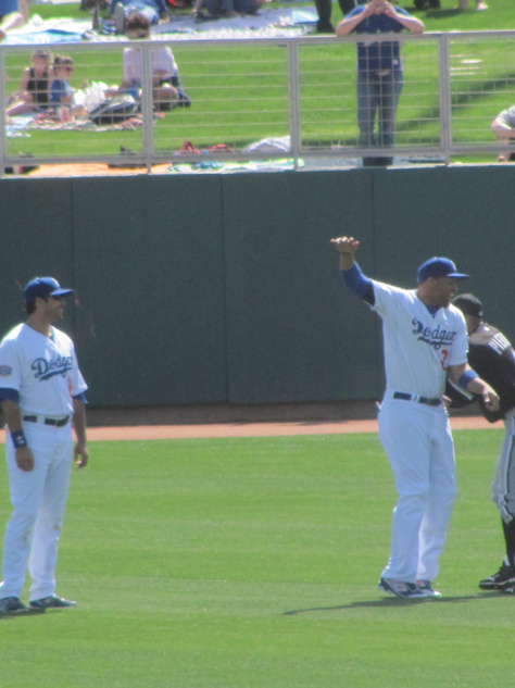 Spring Training 2010 Reunion with Pierre, Kemp shows up.jpg