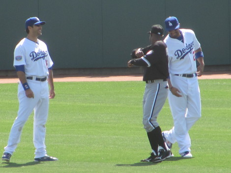 Spring Training 2010 Reunion Kemp and Pierre.jpg