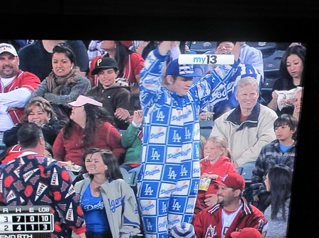 April 2010 Dodger fan at Angel Stadium .jpg