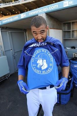 The beard is back folks... : Dodgers