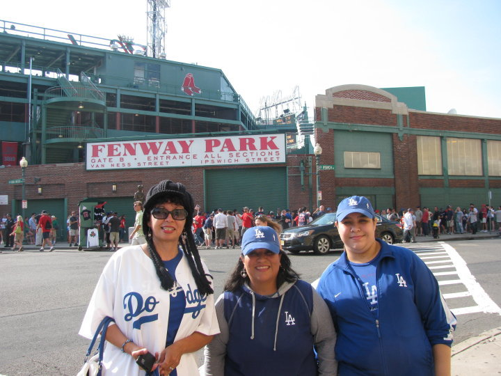 at Fenway with friends Lorena and Elisa.jpg