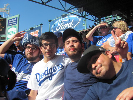 Thumbnail image for Dodger fans at Fenway .jpg