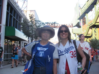 Dodger fans at  Fenway.jpg