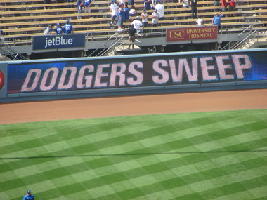 Dodgers sweep at home.jpg