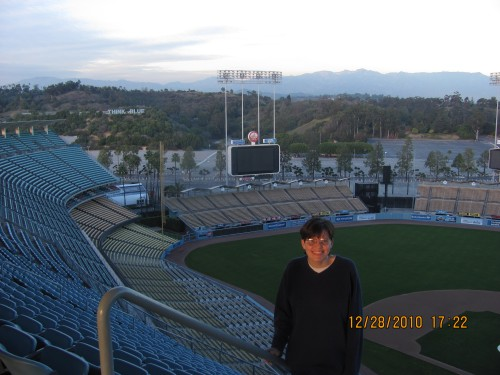 Sandi at Dodger Stadium .jpg
