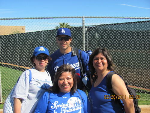 Dodgers White Sox First Spring Training Fan Fest