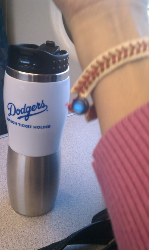 baseball bracelet done