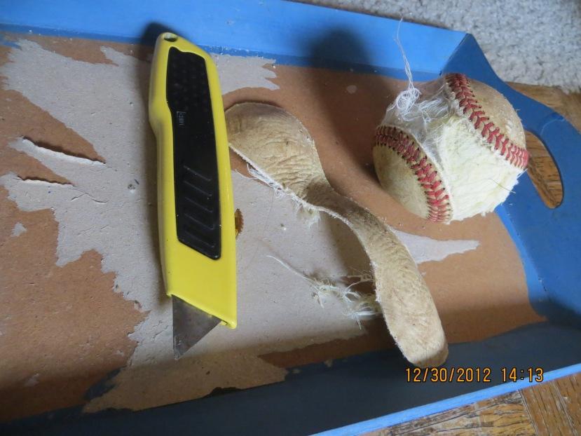 baseball bracelet making 3
