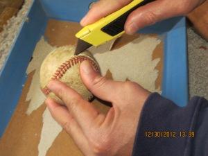 Baseball making bracelet