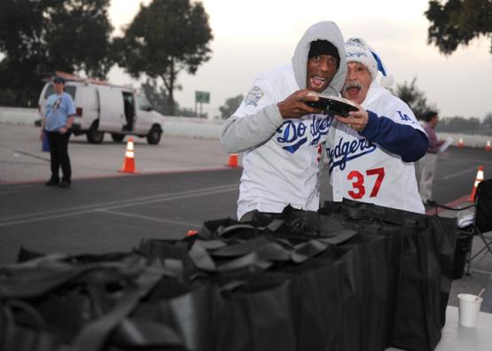 LOS ANGELES DODGERS HAM GIVEAWAY