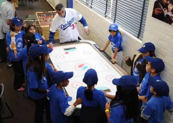 DODGERS CARAVAN TO BOYS AND GIRLS CLUB OF LOS ANGELES