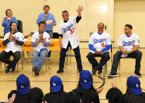 Los Angeles Dodgers Caravan-Day One-LACER