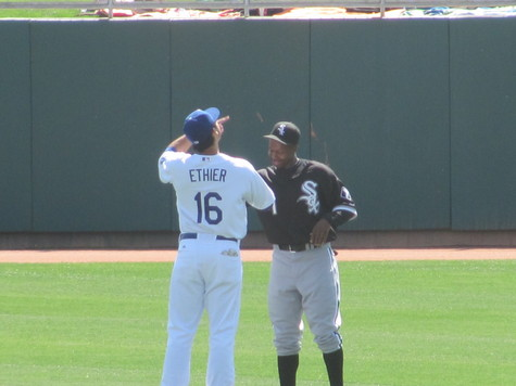 Spring Training 2010 Reunion Andre and Juan Pierre.jpg